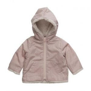 Mango Kids Faux Shearling Jacket