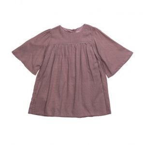 Mango Kids Flared Sleeves Dress