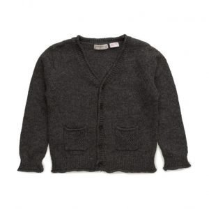 Mango Kids Flecked Cotton-Blend Cardigan