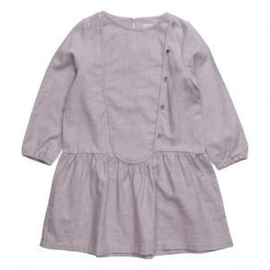 Mango Kids Flecked Cotton-Blend Dress