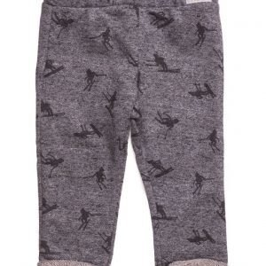 Mango Kids Flecked Cotton Trousers