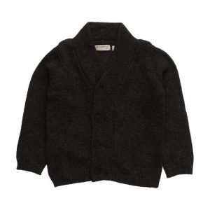 Mango Kids Flecked Wool-Blend Cardigan
