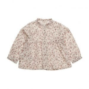 Mango Kids Floral Cotton Blouse