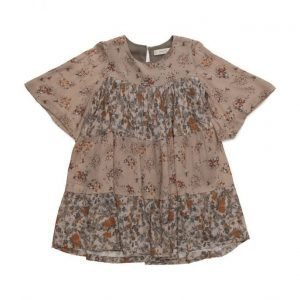 Mango Kids Floral Print Dress