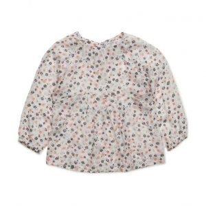 Mango Kids Floral Print Shirt