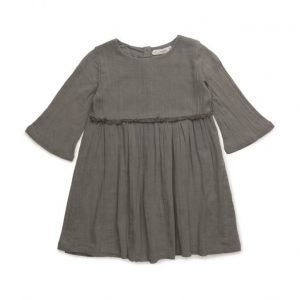Mango Kids Flowy Fringed Dress