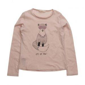Mango Kids Glitter Printed T-Shirt