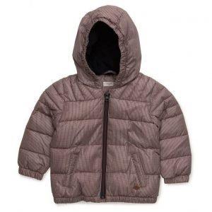 Mango Kids Hood Quilted Coat