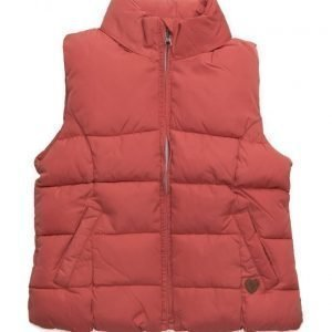 Mango Kids Hooded Quilted Gilet