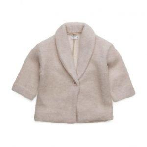 Mango Kids Lapels Wool Coat