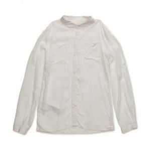 Mango Kids Lightweight Chest-Pocket Shirt