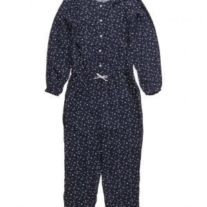 Mango Kids Long Printed Jumpsuit