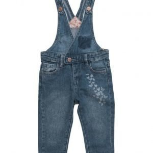Mango Kids Medium Denim Dungarees