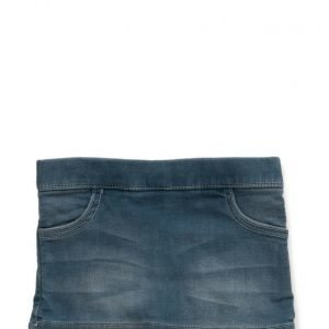 Mango Kids Medium Denim Skirt