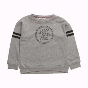 Mango Kids Message Plush Sweatshirt