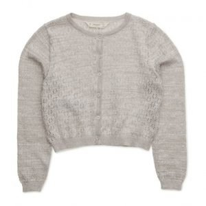 Mango Kids Metal Thread Cardigan