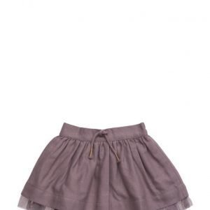 Mango Kids Metallic Detail Skirt