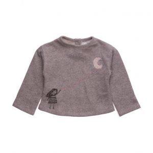 Mango Kids Metallic Thread Sweatshirt