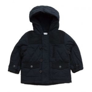 Mango Kids Mixed Quilted Jacket