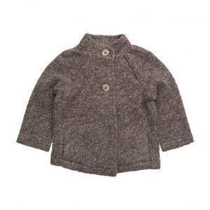 Mango Kids Mohair Wool-Blend Coat