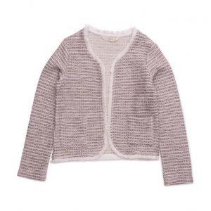 Mango Kids Pocket Tweed Jacket