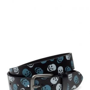 Mango Kids Printed Canvas Belt