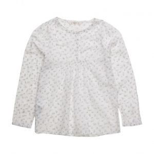 Mango Kids Printed Cotton Shirt