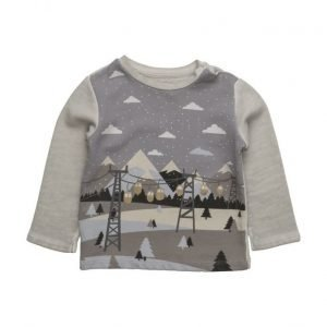 Mango Kids Printed Cotton Sweatshirt