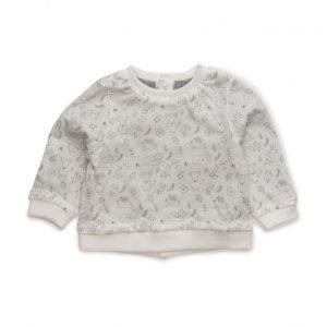 Mango Kids Printed Cotton Sweatshirt