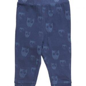 Mango Kids Printed Cotton Trousers