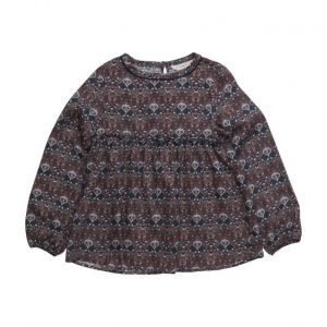 Mango Kids Printed Flowy Shirt