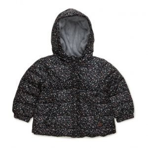 Mango Kids Printed Quilted Coat