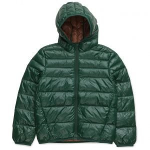 Mango Kids Quilted Feather Coat