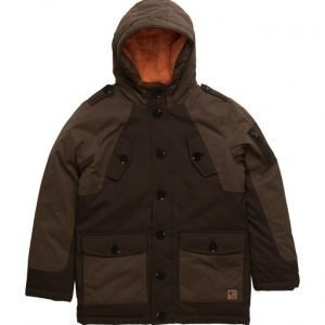 Mango Kids Quilted Hooded Parka