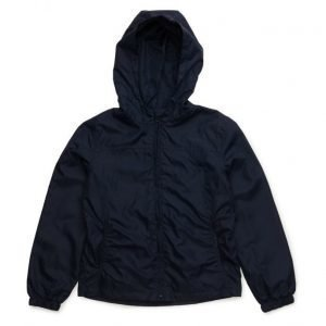 Mango Kids Raincoat Hooded Jacket