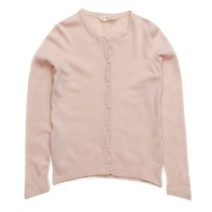 Mango Kids Ribbed Detail Cardigan
