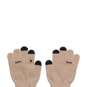 Mango Kids Ribbed Knit Gloves