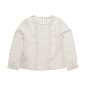 Mango Kids Ruffle Cotton Blouse