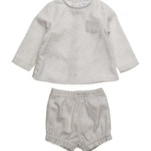 Mango Kids Set Of Shirt And Short