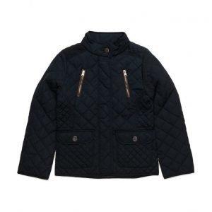 Mango Kids Side-Zip Quilted Coat
