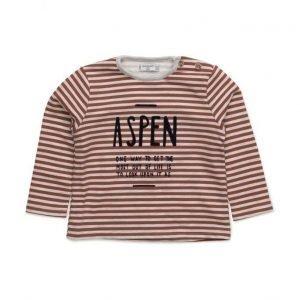 Mango Kids Striped Cotton-Blend Sweatshirt