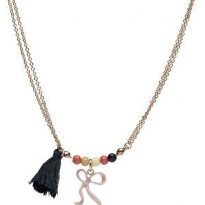 Mango Kids Tassel Bead Necklace