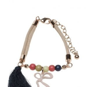 Mango Kids Tassel Beaded Bracelet