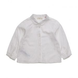Mango Kids Textured Cotton Shirt
