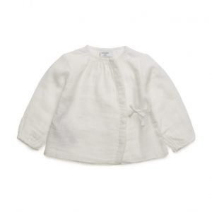 Mango Kids Textured Cotton Shirt