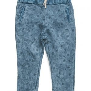 Mango Kids Washed Cotton-Blend Trousers