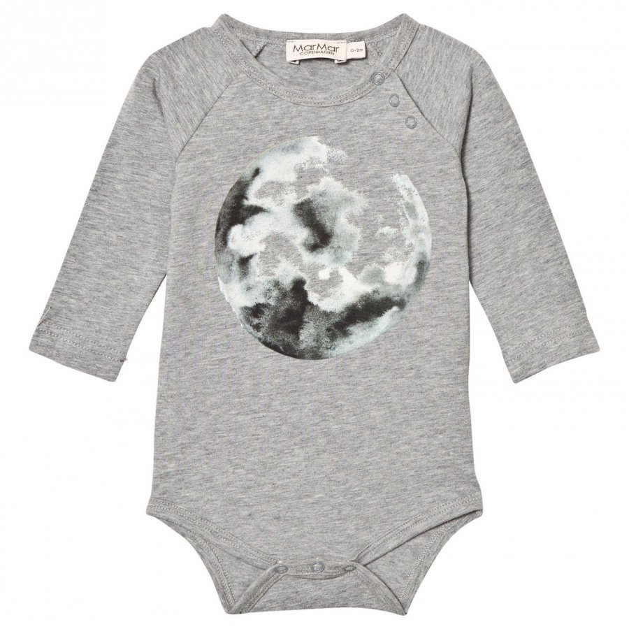 Marmar Copenhagen Bo Jersey Body Moon Print Grey Body