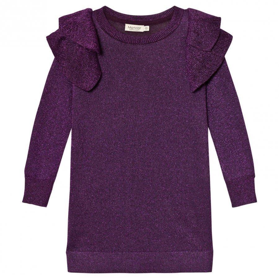 Marmar Copenhagen Doillon Dress Purple Night Mekko