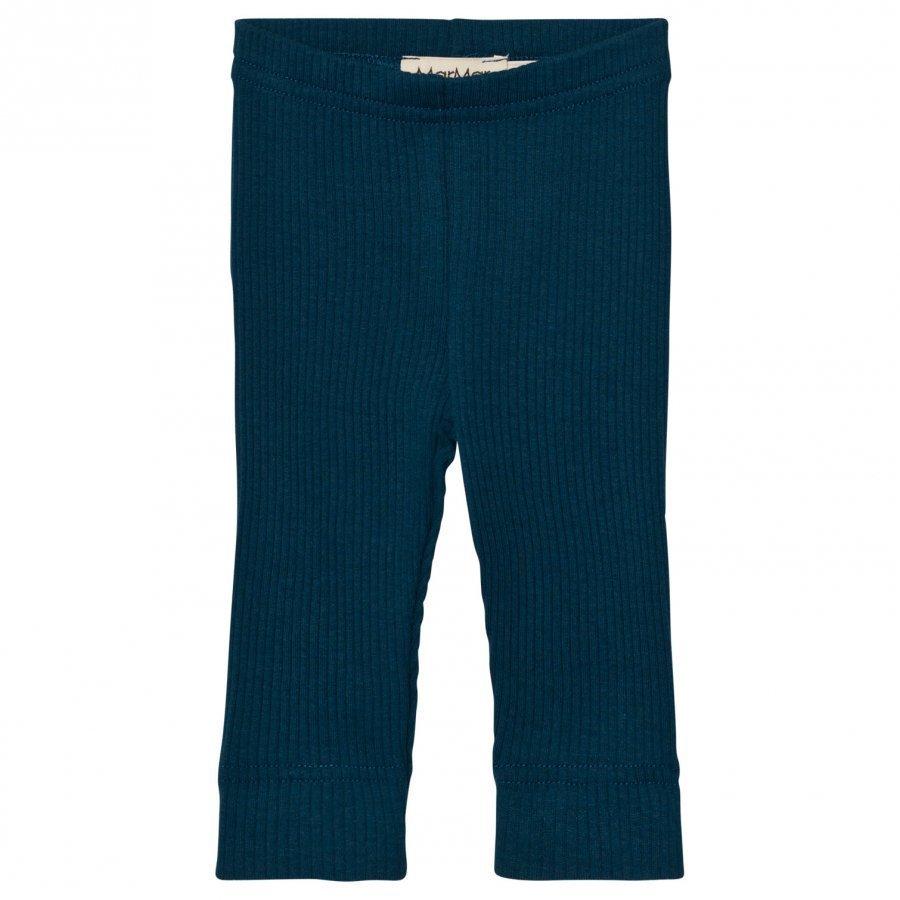 Marmar Copenhagen Leggings Blue Abyss Legginsit
