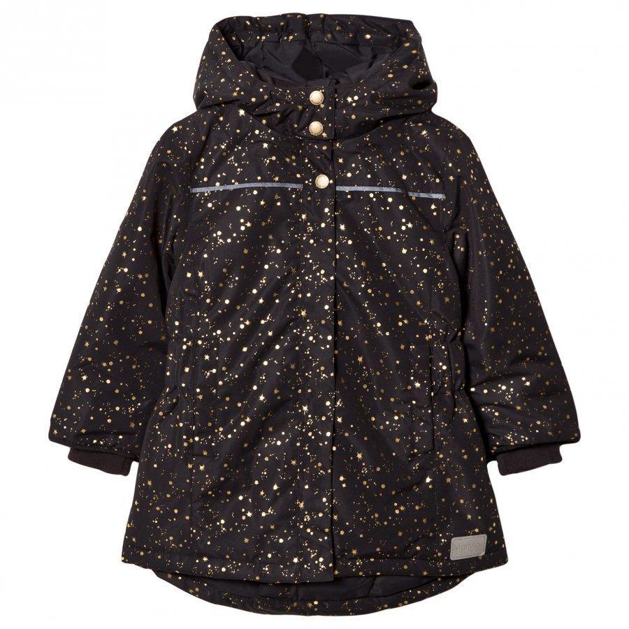 Marmar Copenhagen Olga Jacket Black Star Flake Parkatakki